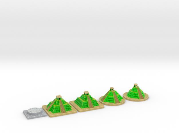 SOL Pyramids & Altar - Full colour (5 pcs)