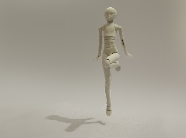 1/12 scale ALTER EGO MkXX bjd model kit in White Natural Versatile Plastic