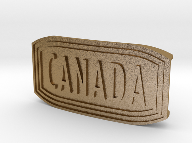 Happy Canada Day ! UMBUCKLE in Polished Gold Steel