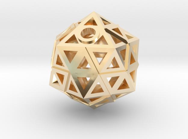 Brilliant Facets - Triangle Pendant