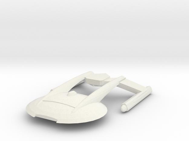 Akira Class in White Natural Versatile Plastic