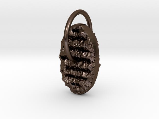cuneiform in Polished Bronze Steel