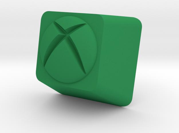XBox One Cherry MX Keycap in Green Processed Versatile Plastic