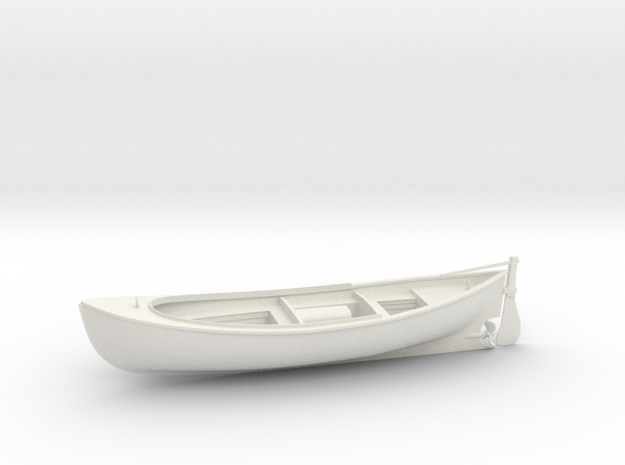 1/24 USN 26ft Motor Whaleboat in White Natural Versatile Plastic