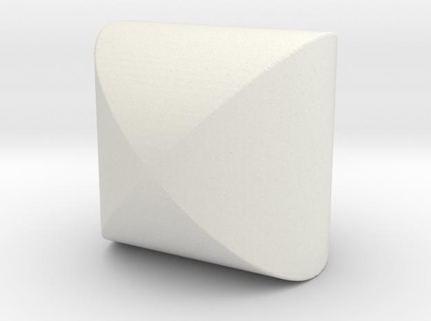 Steinmetz in White Natural Versatile Plastic