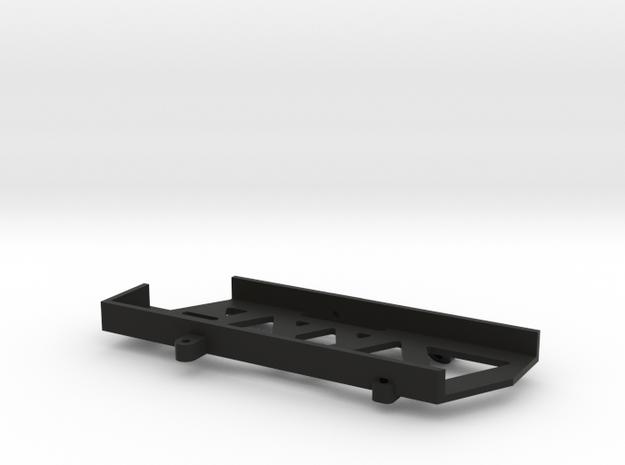 Short Battery Tray for SCX10 II in Black Natural Versatile Plastic