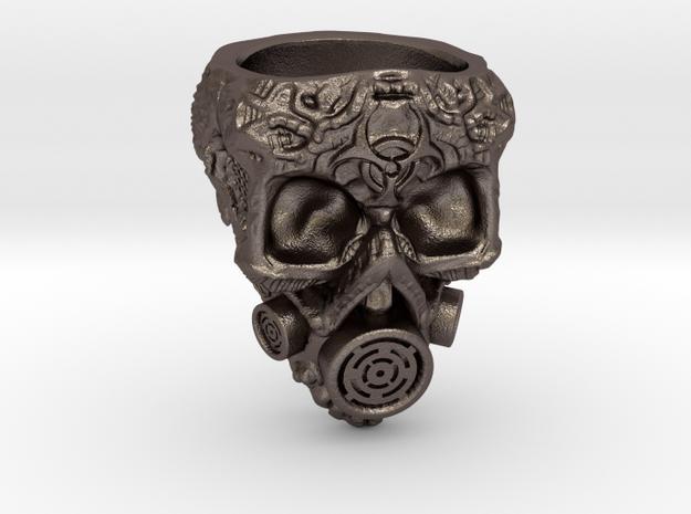 Plague Skull Ring (size 10)
