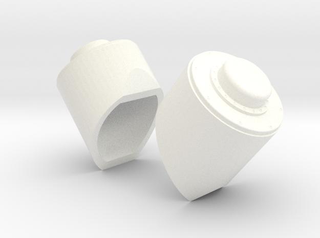 1.8 ANTENNES DAMIEN EC725 in White Processed Versatile Plastic
