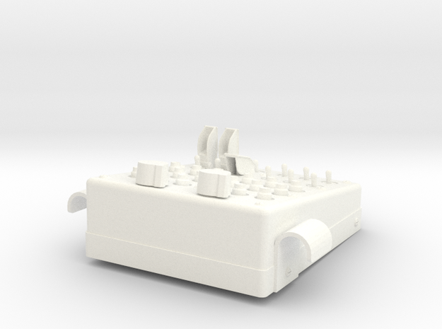 1.5 LAMA SA315B OVERHEAD PANEL in White Strong & Flexible Polished