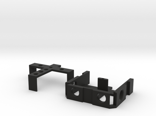 1/10 Scale Rotopax Mounting Bracket in Black Natural Versatile Plastic