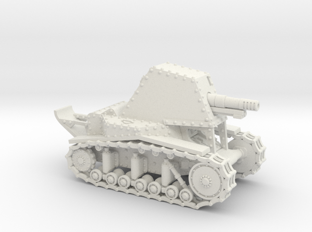 SU-18 (15mm) in White Natural Versatile Plastic