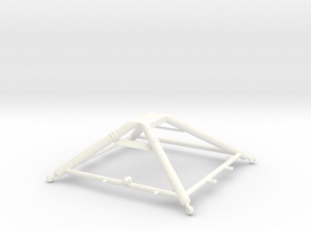 1.5 LAMA SA315B CARGO HOOK CRADDLE in White Processed Versatile Plastic