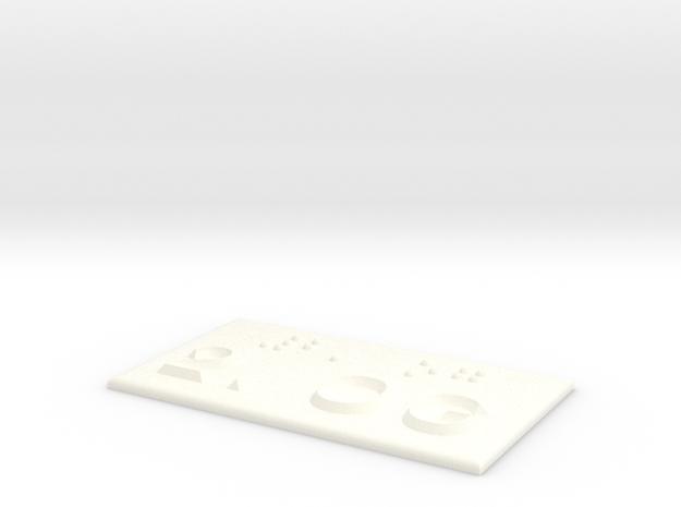 2.OG in White Processed Versatile Plastic