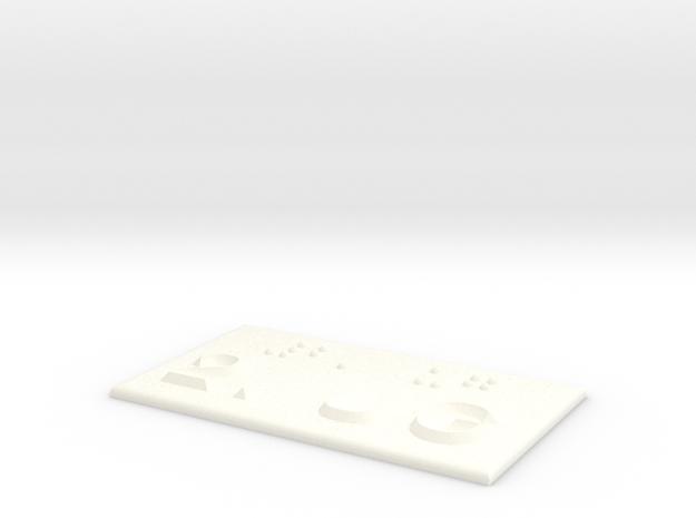 2.UG in White Processed Versatile Plastic