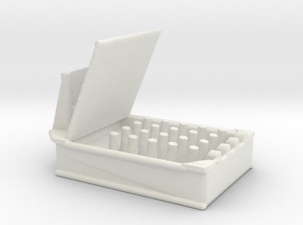 1/144 Scale HedgeHog MK 10 Mod 1  in White Natural Versatile Plastic