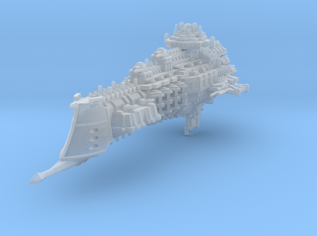 Dominion class battlecruiser in Frosted Ultra Detail