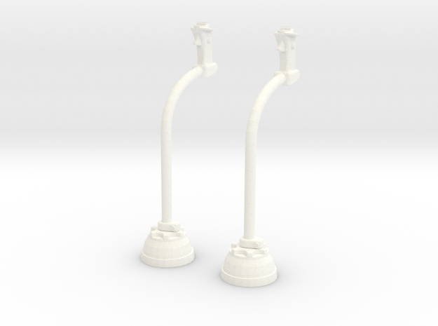 1.8 MANCHE CYCLIQUE LAMA X2 in White Strong & Flexible Polished