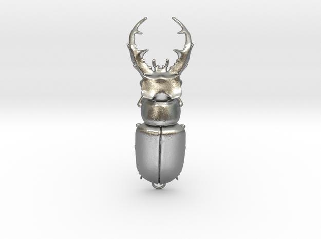 Stag Beetle Pendant