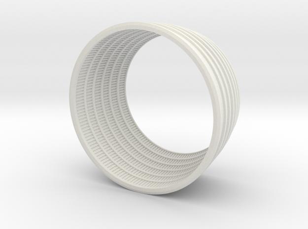 F1 3D Engine Bottom 1:40 in White Natural Versatile Plastic