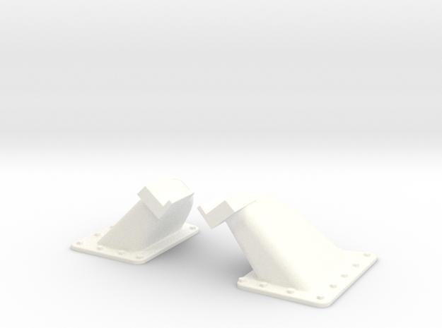 1.5 EC155 BUTEE DE PORTE X2 in White Processed Versatile Plastic