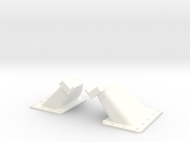 1.5 EC155 BUTEE DE PORTE X2 in White Strong & Flexible Polished