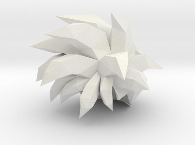 Custom Teen Gohan SSj Inspired MINIMATE in White Natural Versatile Plastic