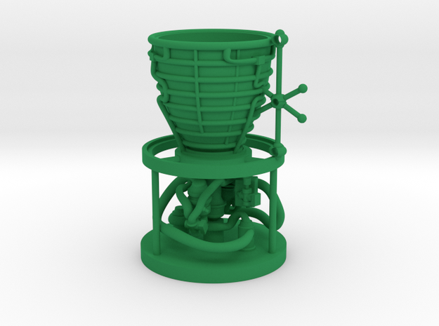 Ornament in Green Processed Versatile Plastic