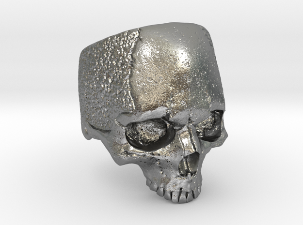 LabSkull in Natural Silver