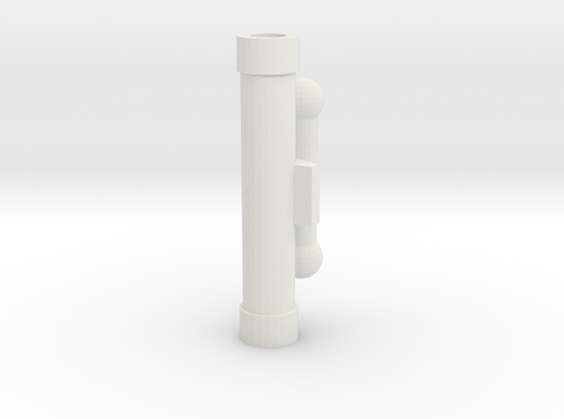Handle Adapter (Sword) for KFC Hands in White Natural Versatile Plastic