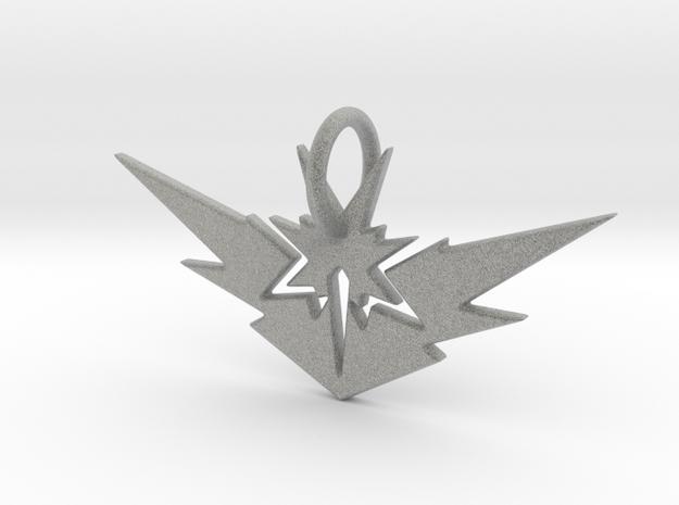 Zapdos Pendant in Metallic Plastic