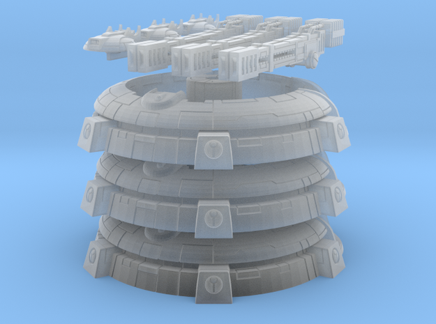 Aera Defense Node in Smooth Fine Detail Plastic: 6mm