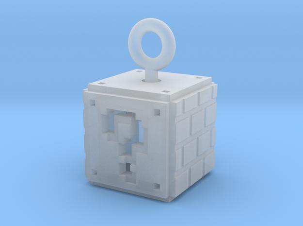 Mario 8-Bit ?-Box 2 in Smoothest Fine Detail Plastic