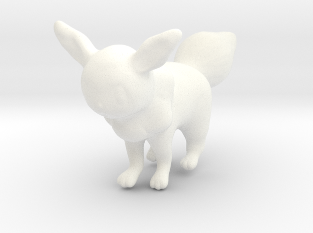Eevee in White Processed Versatile Plastic
