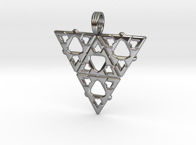BERMUDA TRIANGLE in Premium Silver