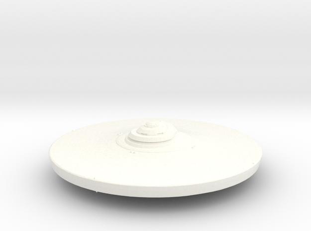 43mm Smooth in White Processed Versatile Plastic