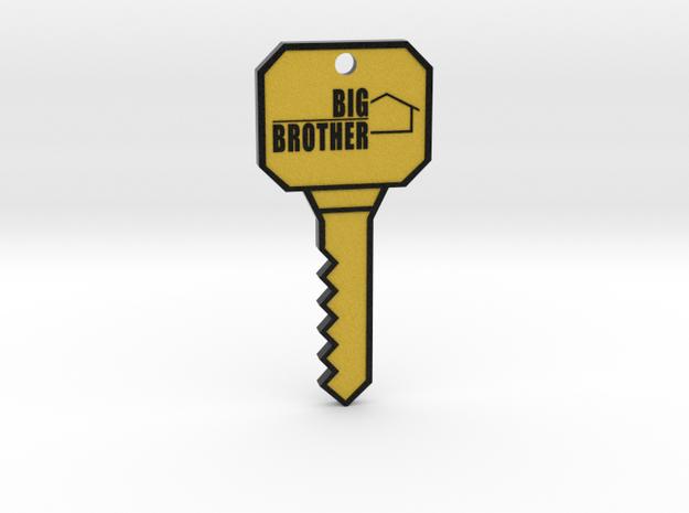 Big Brother Key - Full Size in Full Color Sandstone