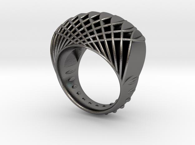ring-dubbelbol-maat 18 3d printed
