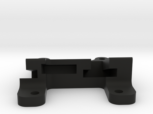 QAV 20° GoPro Mount for Modular Mounting System in Black Natural Versatile Plastic