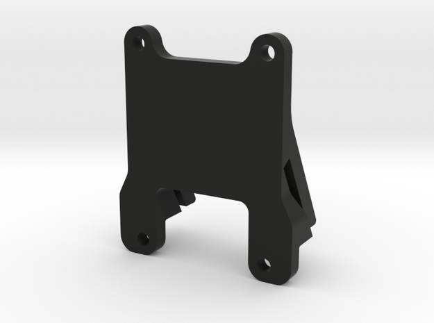 QAV 30° GoPro Mount for Modular Mounting System in Black Natural Versatile Plastic