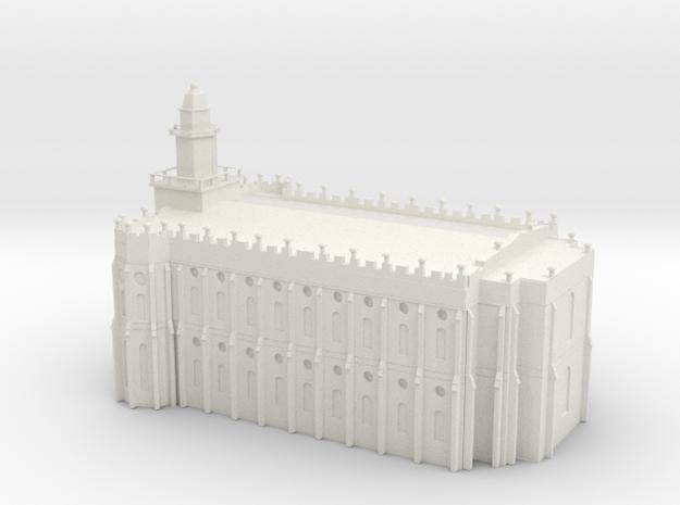 St george utah lds temple in White Natural Versatile Plastic