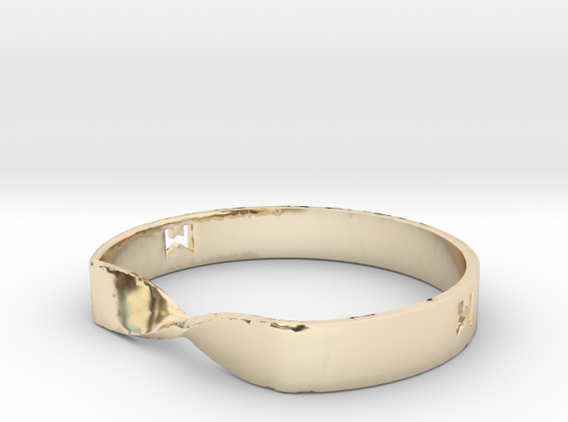 MILOSAURUS Jewelry Mobius Strip Pendant