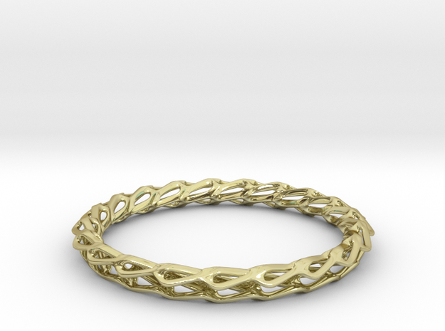 H Bracelet Smooth, Medium Size, d=65mm
