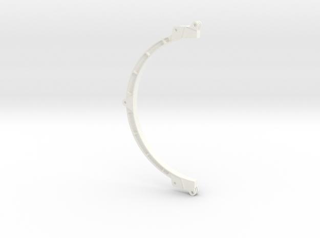 Suppotank in White Processed Versatile Plastic