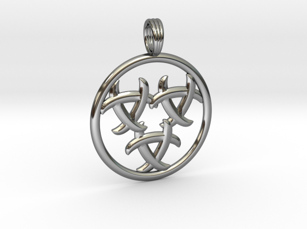 GNOSTIC RELEASE in Fine Detail Polished Silver
