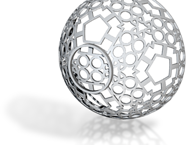 SphereReflectBowl_3.1mm 3d printed