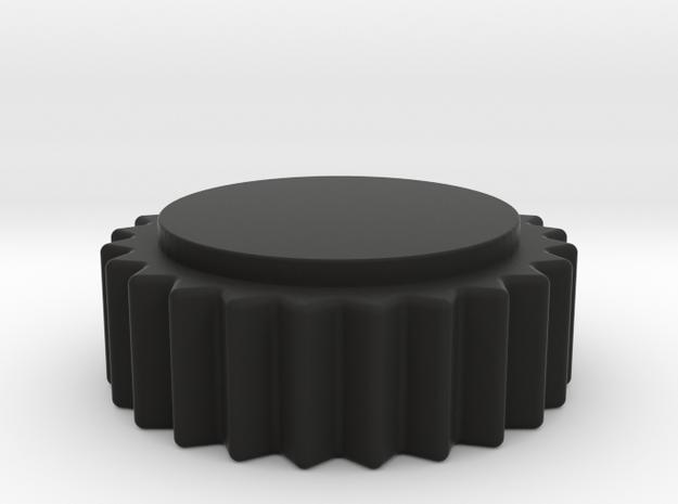 Ferrari F1 Center Knob in Black Natural Versatile Plastic