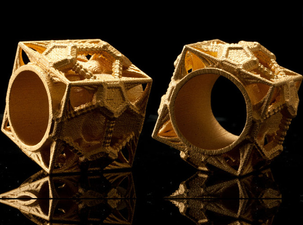 Cosmographicum Fractalium - The Ring 3d printed
