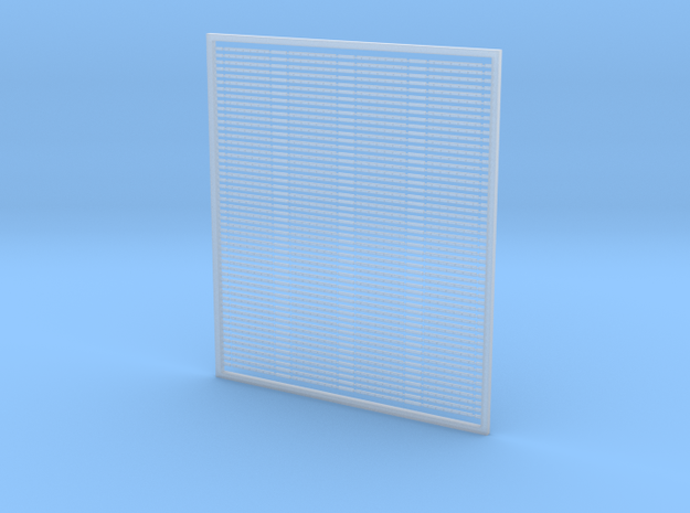 7mm Fishplates - 6 Hole X 200 in Smooth Fine Detail Plastic