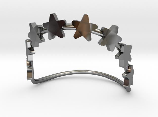 8 Stars Bracelet  in Premium Silver