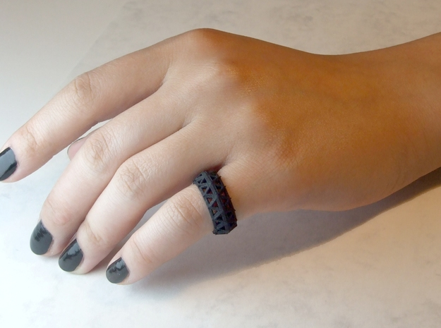 Brilliant Facets - Triangle Ring
